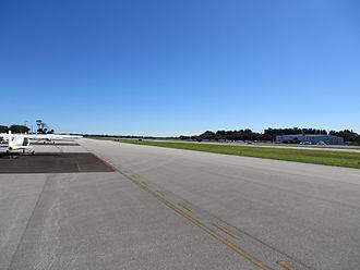 Merritt Island Airport - Merritt Island Airport runway