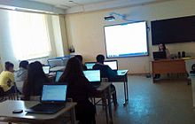 Mesrop Mashtots Charentsavan high school workshop, 11.04.2016 02.jpg