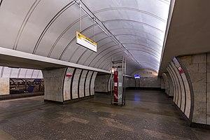 Savyolovskaya - Image: Metro MSK Line 9 Savyolovskaya (img 2)