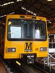Metrocar 4045, Tyne and Wear Metro depot open day, 8 August 2010 (1).jpg