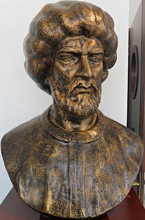 Mezzo Morto Hüseyin Pasha - Bust of Mezzo Morto Hüseyin Pasha in the Mersin Naval Museum.