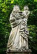 Miłoszyce, rzeźby przy kościele par. św. Mikołaja 1.jpg