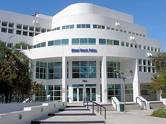 Miami Beach Police Department - Image: Miami Beach Police headquarters