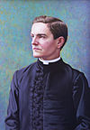 Portrait of Father McGivney by Richard Whitney