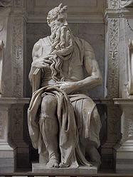 Michelangelo's Moses in San Pietro in Vincoli 2.jpg