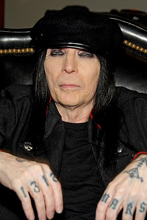 Mick Mars - Mick Mars, Hollywood, CA on March 20, 2012