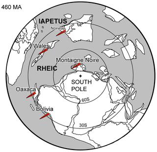 Ordovician Second period of the Paleozoic Era 485-444 million years ago