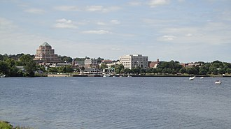 Middletown, Connecticut - Middletown skyline