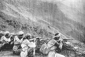 Musha incident - Mikata-Ban, a force of pro-Japanese aborigines.