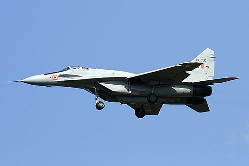 Mikoyan-Gurevich MiG-29UPG Fulcrum, India - Air Force JP7677166