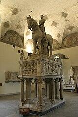 Equestrian monument to Bernabò Visconti
