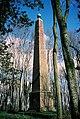 Milborne St. Andrew, Weatherby Castle obelisk - geograph.org.uk - 518528.jpg