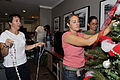 Military groups, local clubs decorate Fisher House for holidays 131202-N-PJ759-004.jpg