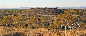 Millstream Chichester National Park - Looking toward the Chichester Range
