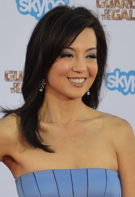 Wen at the Guardians of the Galaxy premiere in July 2014 - Ming-Na Wen