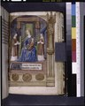 Miniature of Virgin and Child enthroned and opening of French text (NYPL b12455533-425979).tif