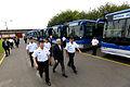 Ministro de Defensa participó en ceremonia de entrega de buses a la Marina (8500583170).jpg