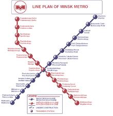 Схемы метро разных стран и городов.