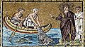 Miraculous catch of fish - Sant'Apollinare Nuovo - Ravenna 2016.jpg
