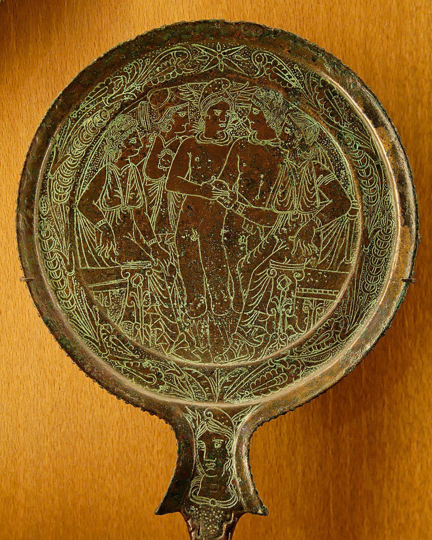 Bronze mirror wikipedia for Miroir intelligent