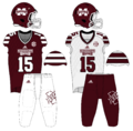 Mississippi State Football Uniforms as of October 5, 2015.png