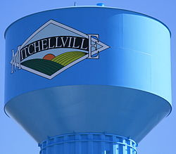 Mitchellville Iowa 20100328 Water Tower Closeup.JPG