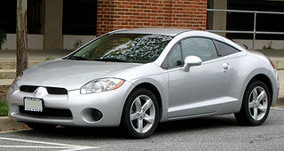 Mitsubishi Eclipse Sport compact car that was produced by Mitsubishi
