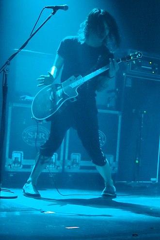 Miyavi - Miyavi performing in New York, 2011.