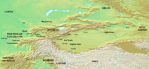 Yunus Khan - Central Asia around 1450 A.D.