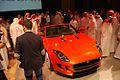 Mohammed Yousuf Naghi Motors unveils Jaguar F-TYPE in Jeddah, KSA (9005510410).jpg