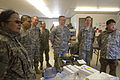 Mongolian and U.S. Army medical professionals listen to a briefing on veterinarian services being provided as part of Arctic Care 2012 in Golovin, Alaska, April 15, 2012 120415-F-ZH346-585.jpg