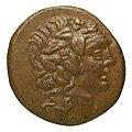 Monnaie en bronze, Pont Amisos, 85-65 BCE, face.jpg
