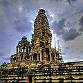 Monsoon over the shikhara Kakanmath temple seonia.jpg