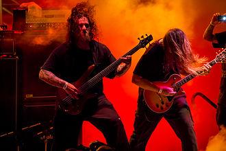 Monstrosity (band) - Image: Monstrosity, Dec 2012, Barge to Hell