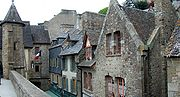Mont Saint Michel village