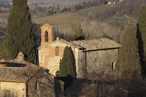 Montalcino, Pieve a Pava