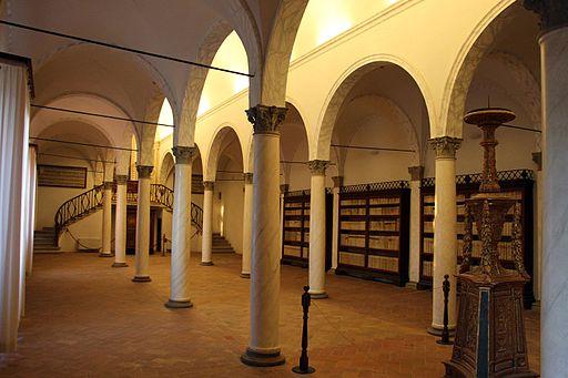 Monte Oliveto Maggiore, biblioteca di fra' Girolamo da Verona