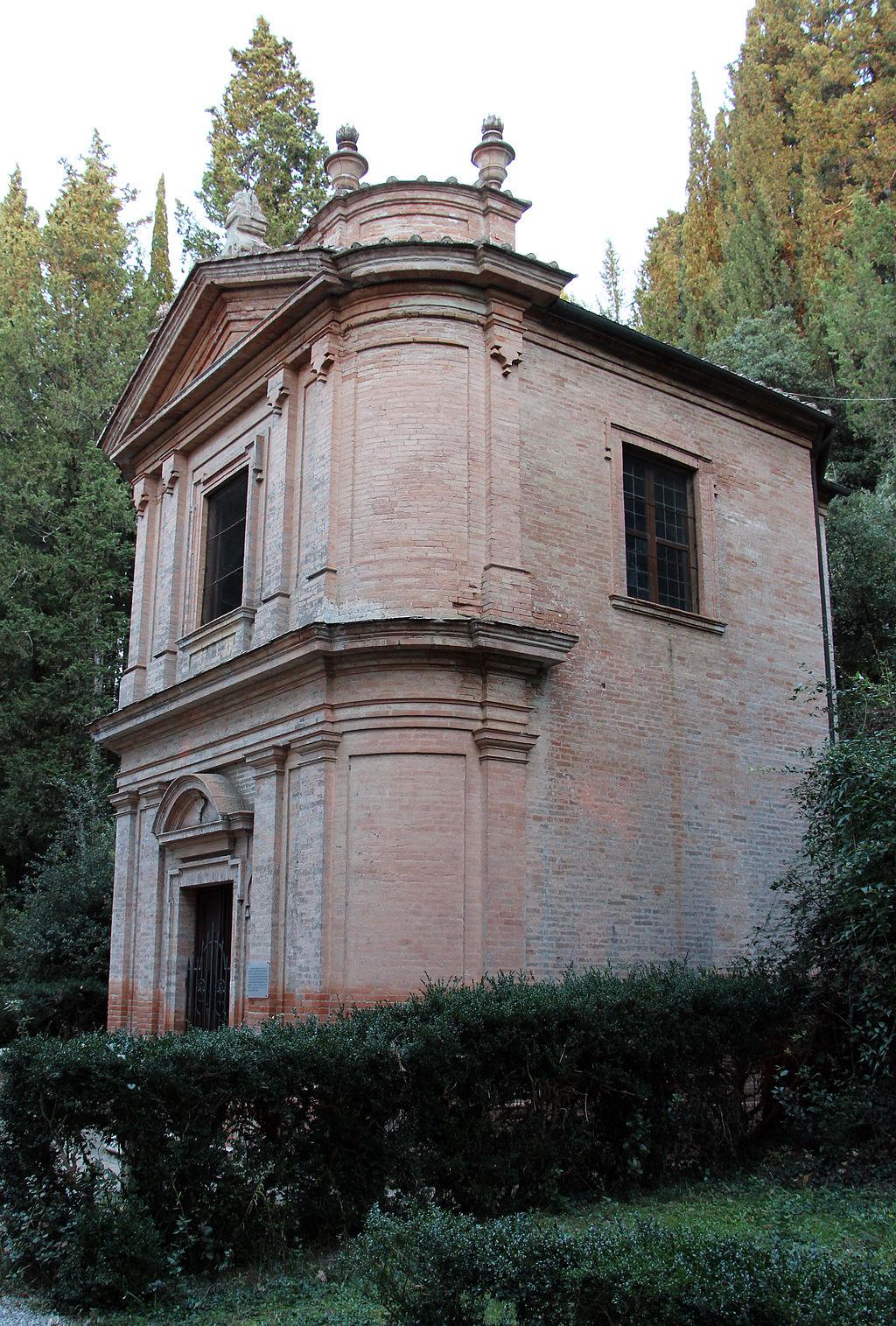 Monte Oliveto Maggiore, capella Bernardo Tolomei