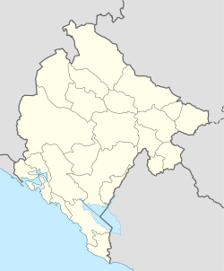 TGD is located in Montenegro