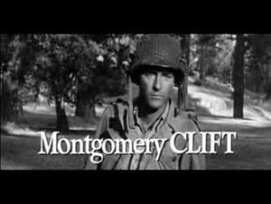 Montgomery Clift - Clift in trailer from The Young Lions (1958)
