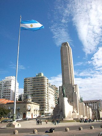 Rosario, Santa Fe - National Flag Memorial, downtown Rosario