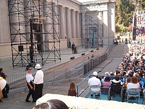 Hearst Greek Theatre - Image: Moore Greek Theater UC Berkeley