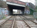 Morden Road tram stop - looking east 02.jpg