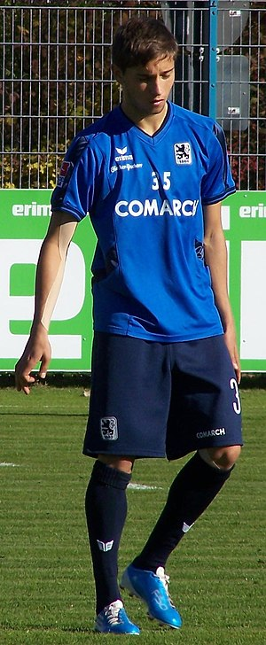 Moritz Leitner - Leitner training at 1860 München.