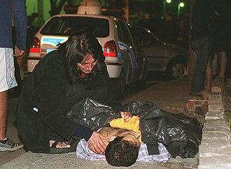 Crime in Brazil - Murder victim in Rio de Janeiro