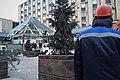Moscow, Pushkinskaya Square, demolition of the Pyramid (25983207731).jpg