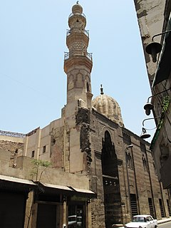 Mosque and Khanqah of Shaykhu mosque in Egypt