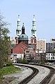 Mother of God Church (Covington, Kentucky) - railroad tracks behind the church.jpg