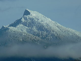 Mount Pilchuck mountain in United States of America