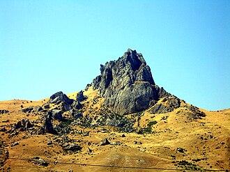 Orography of Azerbaijan - Image: Mountain Beshbarmag, Azerbaijan, 2007